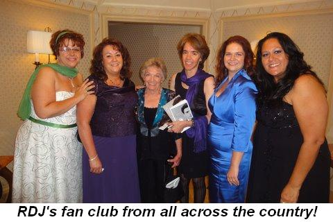 Blog 14 - RDJ's fan club who came from all across the country