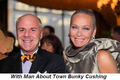 Blog 20 - With Man About Town Bunky Cushing