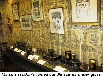 Blog 2 - Maison Trudon's famed candle scents under glass