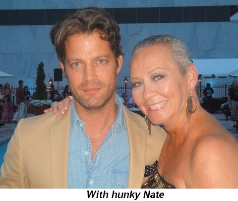 Blog 39 - With hunky Nate