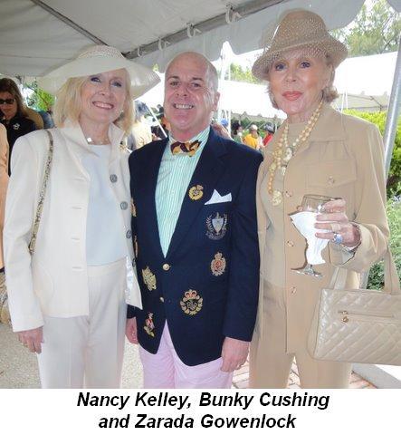 Blog 5 - Nancy Kelley, Bunky Cushing and Zarada Gowenlock