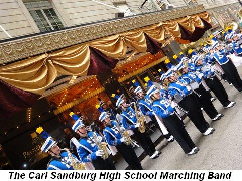 Blog 4 - The Carl Sandburg Marching Band