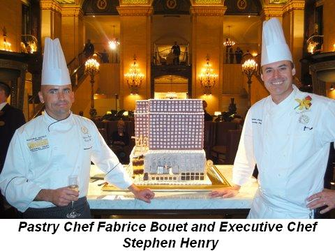 Blog 5 - Pastry Chef Fabrice Bouet and Executive Chef Stephen Henry