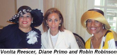Blog 3 - Vonita Reescer, Diane Primo and Robin Robinson