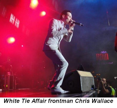 Blog 9 -  White Tie Affair frontman Chris Wallace