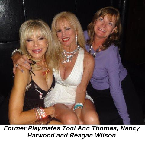 Blog - Playmates Toni Ann Thomas, Nancy Harwood and Reagan Wilson