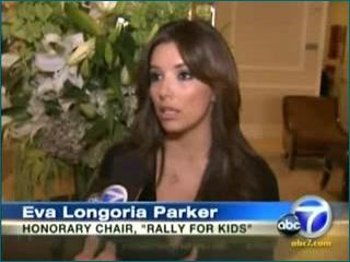 Blog 3 - Eva Longoria Parker—Honorary Rally Chair