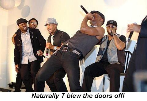 Blog 4 - Naturally 7 blew the doors off