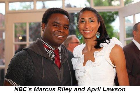 Blog 7 - NBC's Marcus Riley and April Lawson