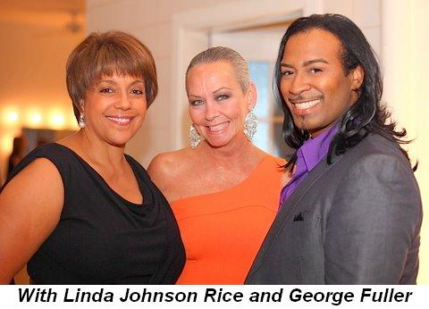 Blog 9 - With Linda Johnson Rice and George Fuller