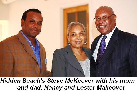 Blog 10 - Hidden Beach Record founder Steve McKeever with his mom and dad, Nancy and Lester Makeover
