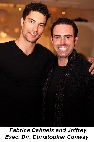 Blog 14 - Fabrice Calmels and Joffrey Executive Director Christopher Conway
