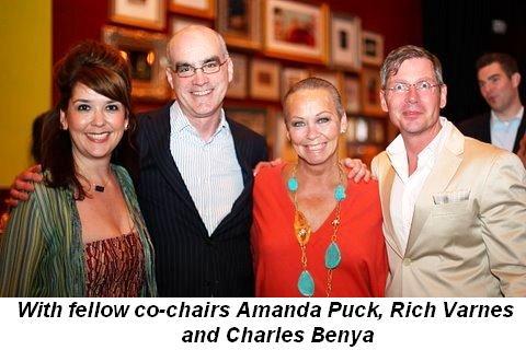 Blog 1 - With fellow co-chairs Amanda Puck, Rich Varnes and Charles Benya