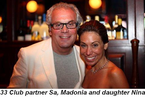 Blog 3 - 33 Club partner Sam Madonia and daughter Nina