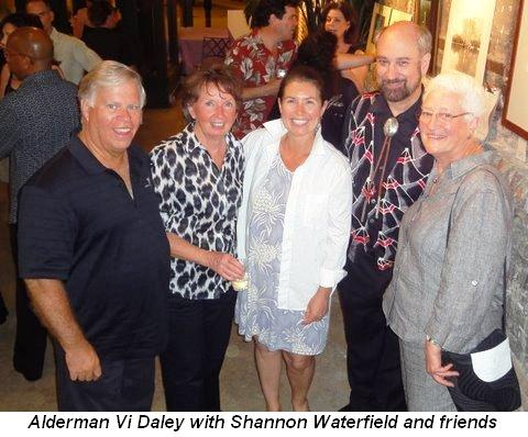 Blog 2 - Alderman Vi Daley with Shannon Waterfield and friends
