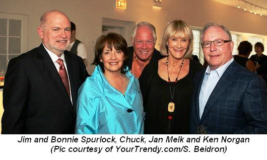 Blog 3 - Jim and Bonnie Spurlock, Chuck, Jan Melk and Ken Norgan Pic courtesy of YourTrendycomSBeidron