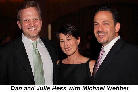 Blog 16 - Dan and Julie Hess with Michael Webber