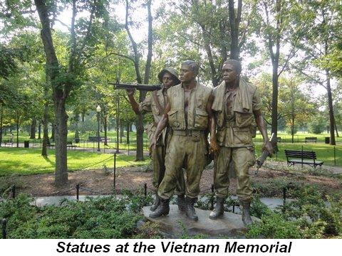 Blog 9 - Statues at Vietnam Memorial