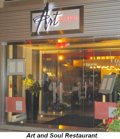 Blog 11 - Art & Soul Restaurant