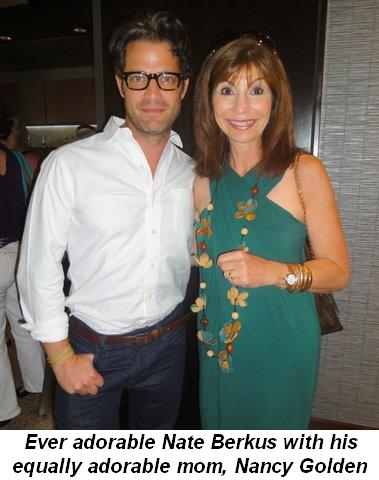 Blog 16 - Ever adorable Nate Berkus with his equally adorable mom, Nancy Golden