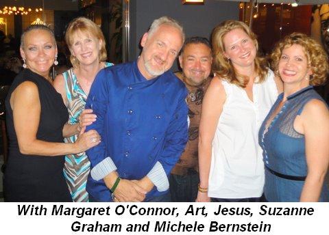 Blog 22 - With Margaret O'Connor, Art, Jesus, Suzanne Graham and Michele Bernstein