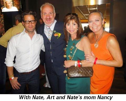 Blog 24 - With Nate, Art and Nate's mom Nancy