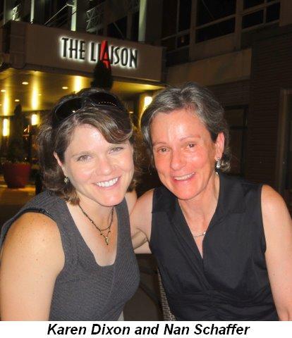 Blog 26 - Karen Dixon and Nan Schaffer