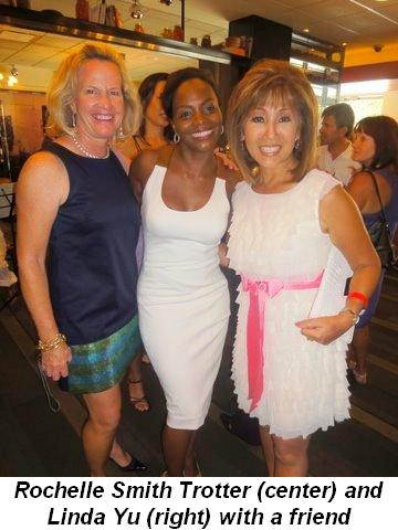 Blog 33 - Rochelle Smith Trotter (center) with Linda Yu and friend
