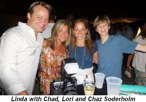 Blog 41 - Linda O'Keefe with Chad, Lori and Chaz Soderholm