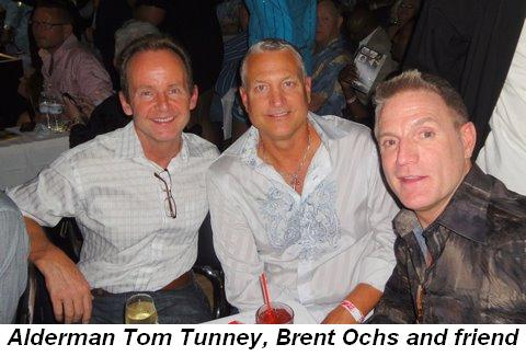Blog 2 - Alderman Tom Tunney, Brent Ochs and friend