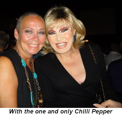 Blog 17 - With the one and only Chilli Pepper