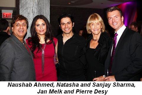 Blog 4 - Naushab Ahmed, Natasha and Sanjay Sharma, Jan Melk and Pierre Desy