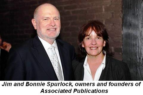 Blog 5 - Jim and Bonnie Spurlock, owners and founders of Associated Publications