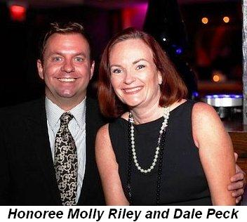 Blog 6 - Honoree Molly Riley and Dale Peck