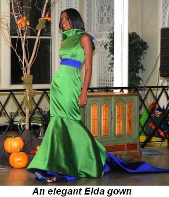 Blog 2 - An elegant Elda gown