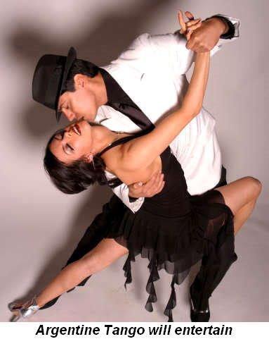 Blog 4 - Argentine Tango will entertain
