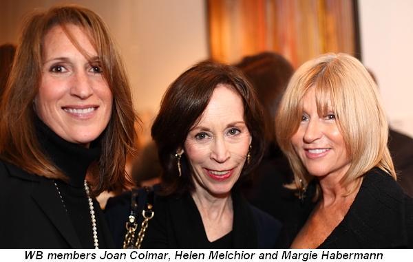 Blog 11 - WB members Joan Colmar, Helen Melchior and Margie Habermann