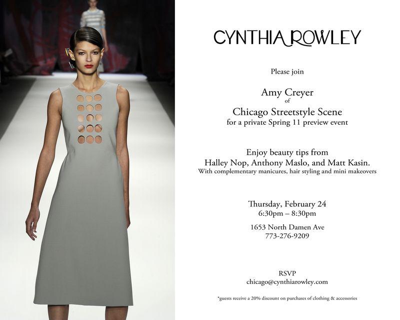 Chicago Event Feb 24