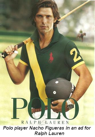 Blog 2 - Polo player Nacho Figueras in ad for Ralph Lauren | 332 x 480 jpeg 28kB