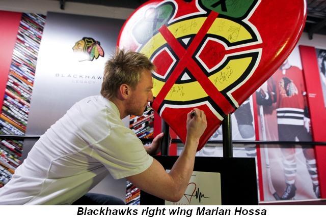 Blog 7 - Blackhawk's right wing Marian Hossa