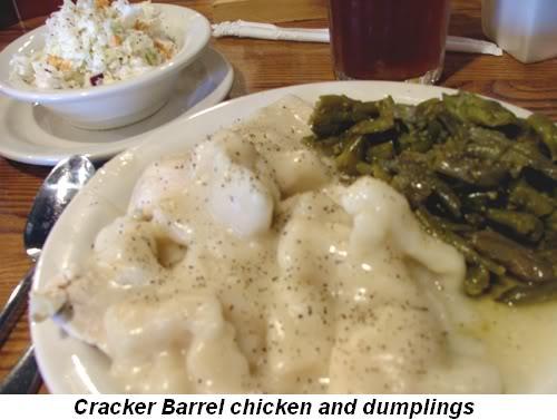 Blog 5 - Cracker Barrel chicken and dumplings