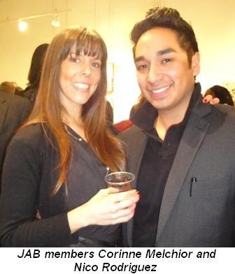 Blog 3 - JAB members Corinne Melchior and Nico Rodriguez
