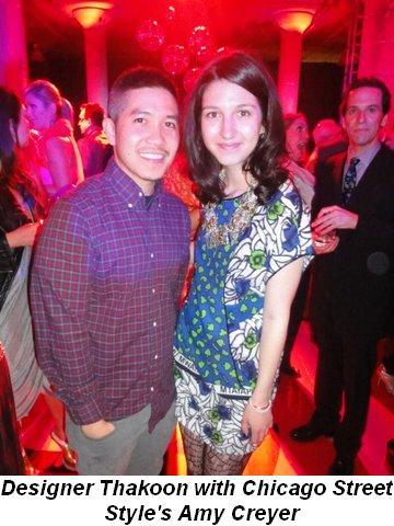 Blog 6 - Designer Thakoon with Chicago Street Style's Amy Creyer
