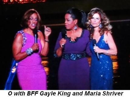 Blog 24 - O's BFF, Gayle King, and Maria Shriver
