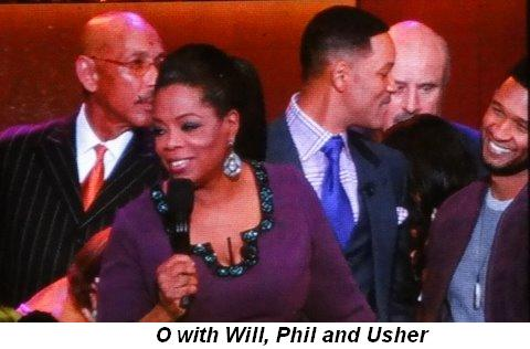 Blog 38 - O with Will, Dr. Phil and Usher