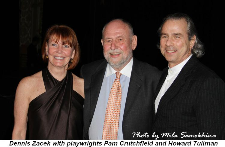 Blog 1 - Dennis Zacek with playwrights Pam Crutchfield and Howard Tullman