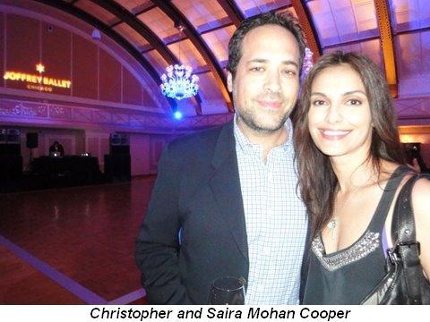 Blog 3 - Christopher and Saira Mohan Cooper
