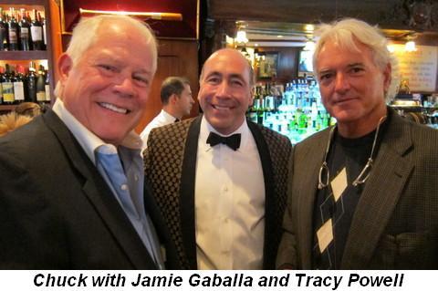 Blog 5 - Chuck with Jamie Gaballa and Tracy Powell