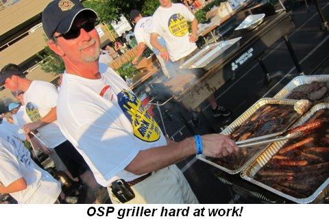 Blog 3 - OSP Griller hard at work!
