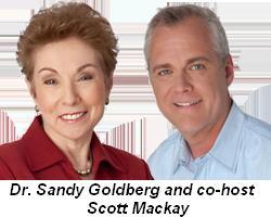 Blog 3 - Dr. Sandy Goldberg and co-host Scott Mackay